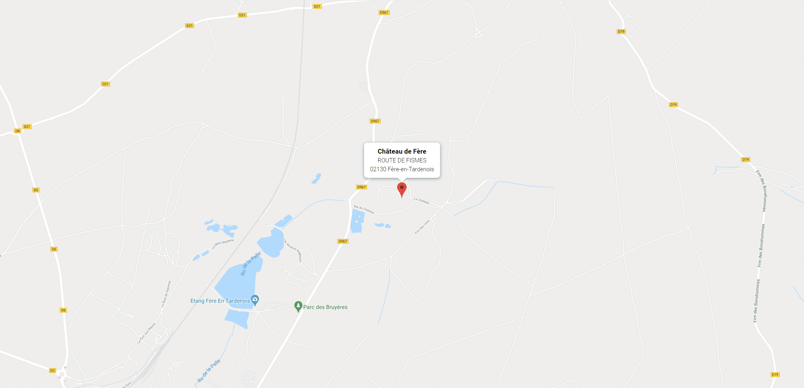 map fere
